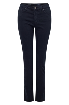 AG Jeans Prima Cigarette Sateen Jean in Midnight Navy