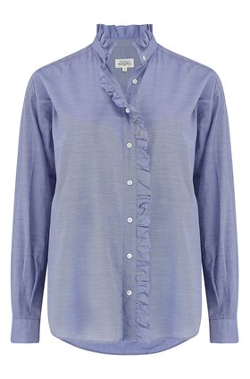 caprice shirt in dark chambray