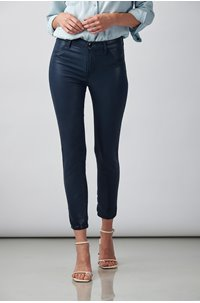 alana skinny jean in stellar navy coated