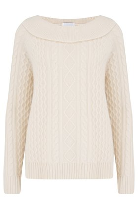 rourke cashmere knit in cream