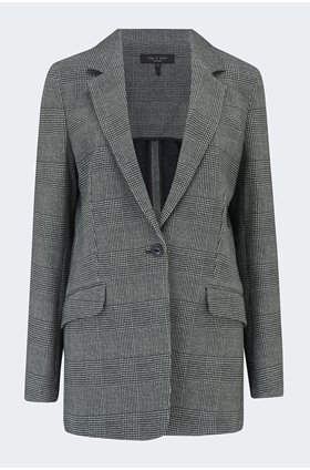 ames plaid blazer