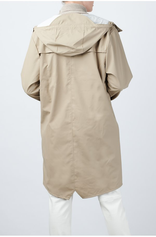 long jacket in beige