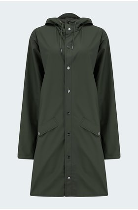 long jacket in green