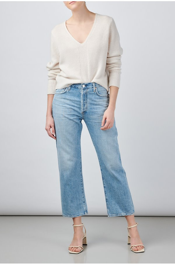 emery relaxed crop jean in tularosa