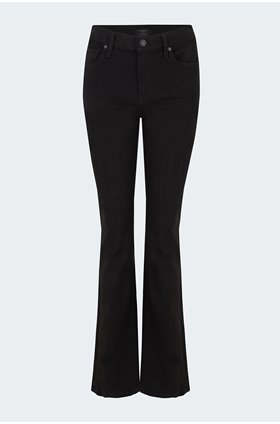 emanuelle bootcut jean in plush black