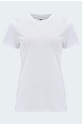 essential crew t-shirt in white