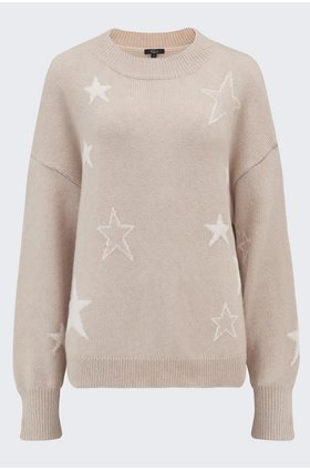 kana stars jumper in camel