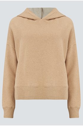 nico sweatshirt in heather camel