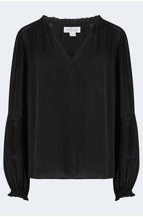 kimmie blouse in black