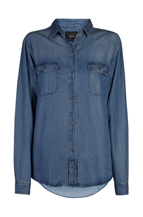Rails Kendall Shirt Dark Vintage Wash