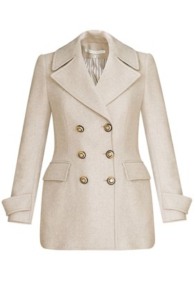 regina coat in oatmeal