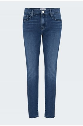 le garcon boyfriend jean in rodeo blue