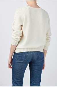 sandra jumper in cream
