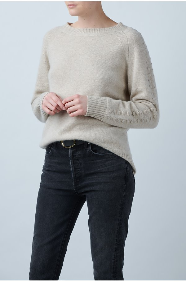 sandra jumper in oatmeal