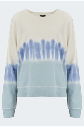 theo top in ocean tie dye