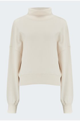 blaire jumper in winter white