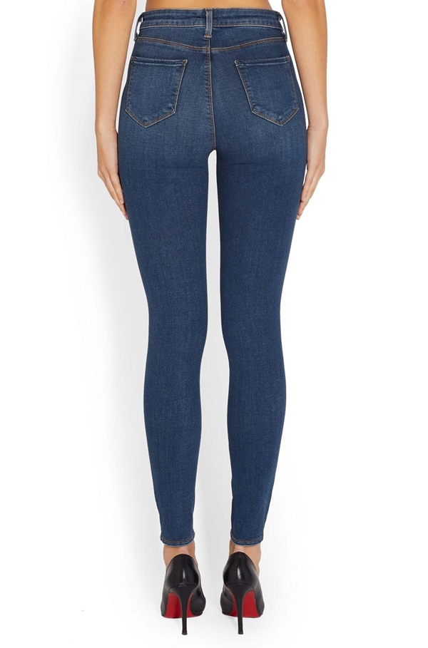 Marguerite High Rise Skinny Jean in Dark Vintage