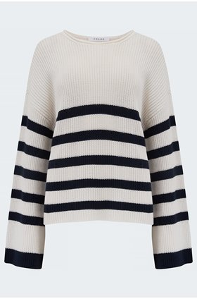 mariner swingy sweater in off white