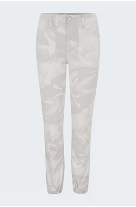 mayslie jogger in beige camo