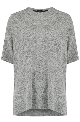 Rails Micah Top in Melange Grey