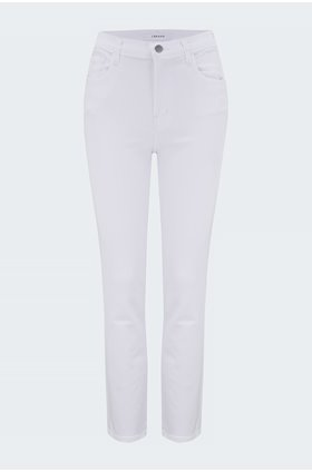 alma straight jean in blanc
