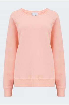 Sweatshirt in Neon Orange