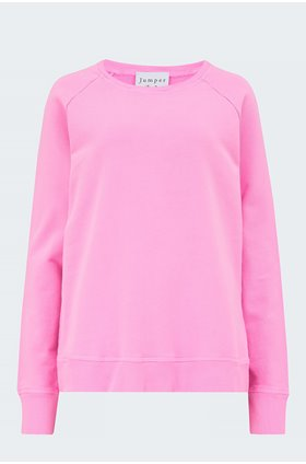 sweatshirt in neon pink