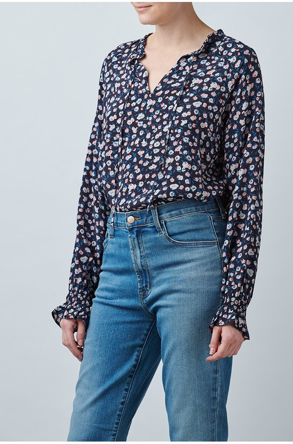 florence blouse in ditsy floral