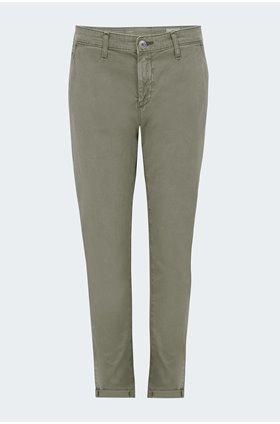 caden trouser in sulfur natural agave