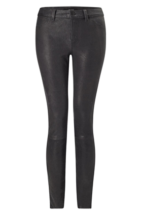J Brand Jeans L8001 Leather in Noir
