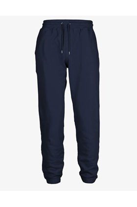 classic organic sweat pants in navy blue