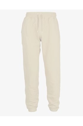 classic organic sweat pants in ivory white