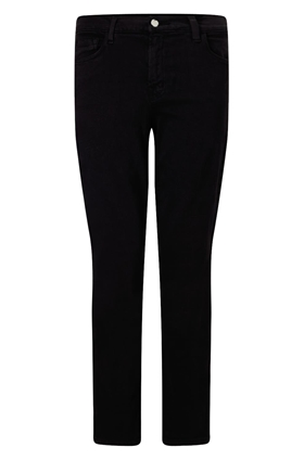 J Brand 8312 Cropped Rail Jean in Black