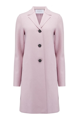 Harris Wharf London Boxy Coat in Blush