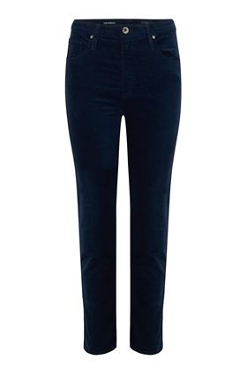 AG Isabelle Straight Leg Jean in Velvet Blue Night
