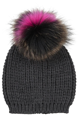 Pom Hat in Anthracite