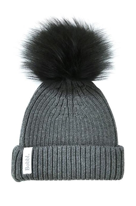 Bobbl Classic Merino Hat in Charcoal