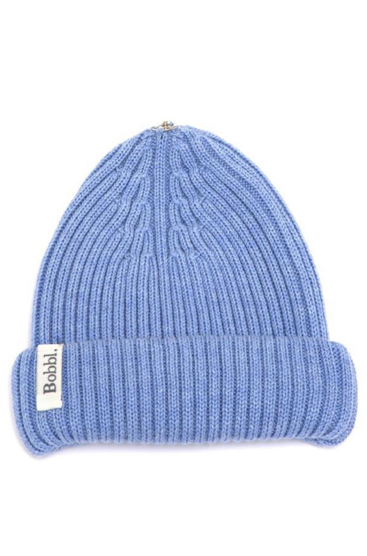 fd8af5f59 Classic Merino Hat in Denim Blue