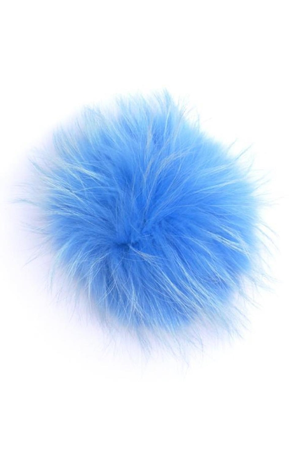 Big Fur Pom Pom in Sky Blue