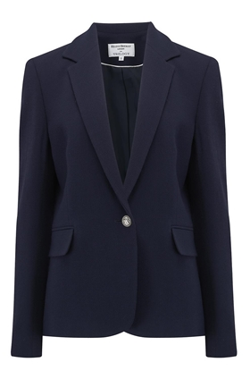 Helene Berman Carine Blazer in Navy