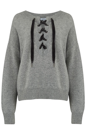 Rails Olivia Jumper in Heather Grey
