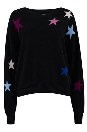 Rails Presley Jumper in Black Cosmo