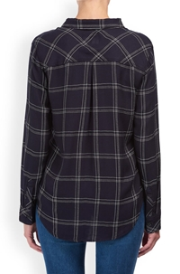 227fe6458 Rails. Hunter Shirt in Navy and Snow. Was£145.00Now£95.00. 1 / 4