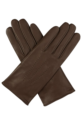 Agnelle  Julie Gloves in Tourbe