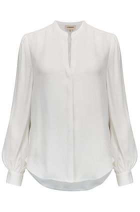 L'AGENCE Fabiola Blouse in Ivory