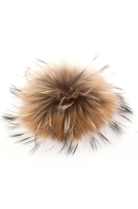 Bobbl Big Fur Pom Pom in Natural