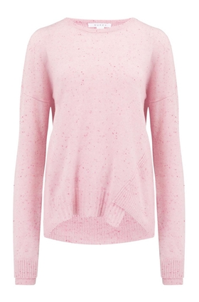Duffy Crew Neck Jumper in Bubblegum
