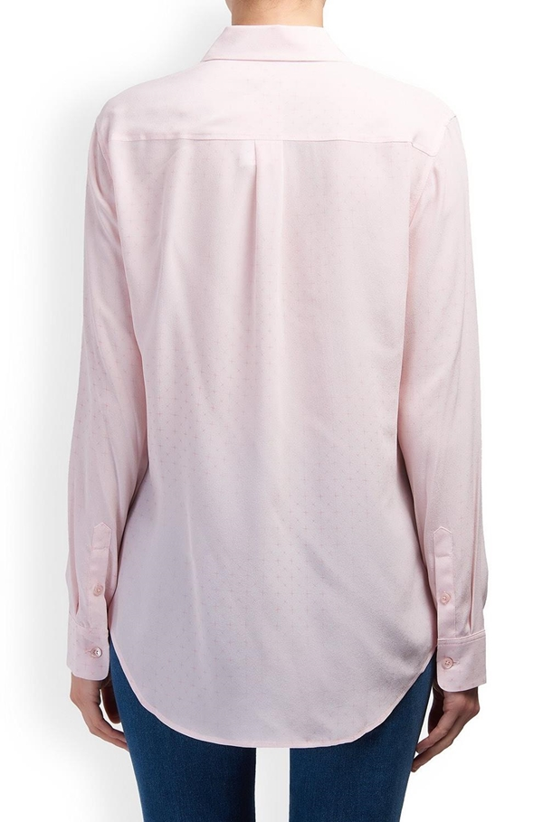 signature shirt in champagne pink multi