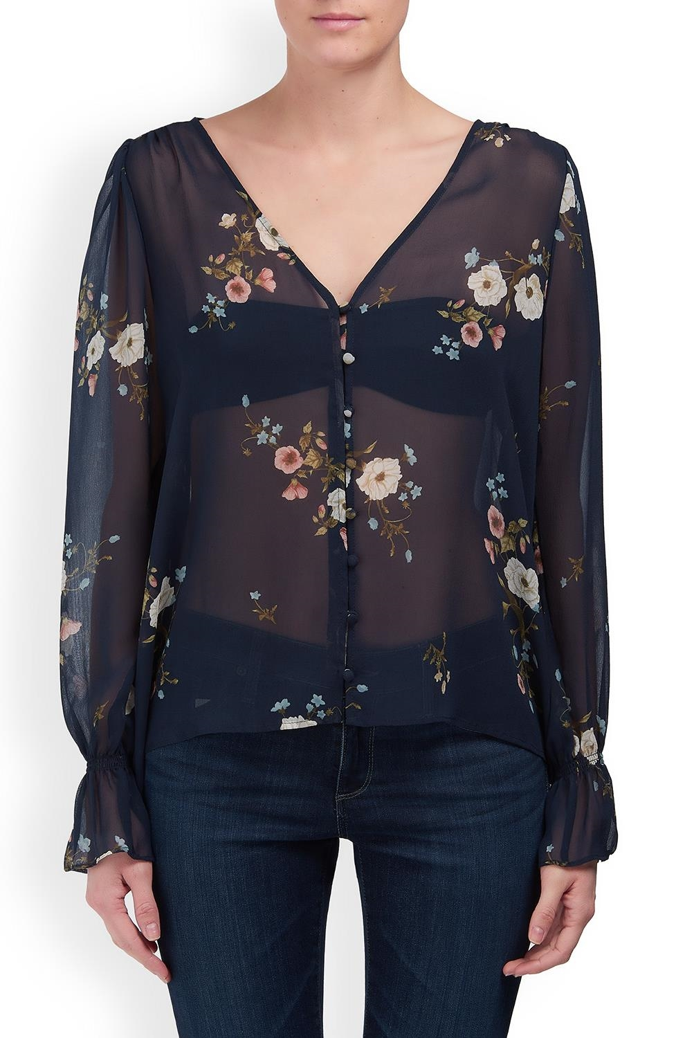 dbe152a51c12 Joie. Bolona C Blouse in Midnight Floral. Was£275.00Now£95.00. 1 / 4