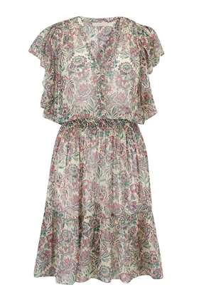Luz Mixed Floral Print Dress
